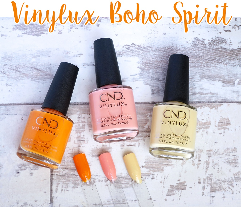 CND Vinylux Boho Spirit 2018 Collection